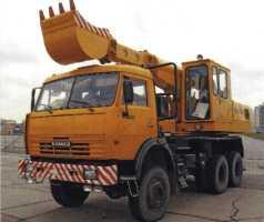 Экскаватор планировщик ЭО-43212 на шасси КамАЗ-53228 образца 2004 г.