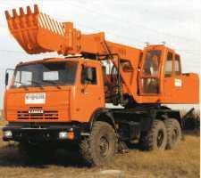 Экскаватор планировщик ЕТ-4322 на шасси КамАЗ-43118