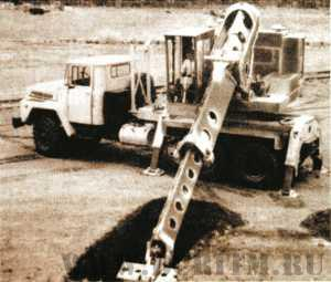 Экскаватор планировщик 660Е на шасси КрАЗ-250 с оборудованием Gradall