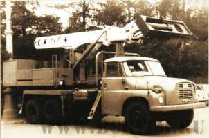 Один из первых экскаваторов UDS 110a на шасси Tatra 148, поступивших в ССР, работал в Горьком. Конец 70-х годов