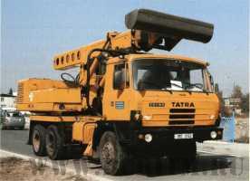 Экскаватор планировщик UDS 214 на шасси Tatra 815 (модель со второй версией дизайна надстройки)