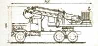 Компоновочная схема первого отечественного экскаватора планировщика Э-1040