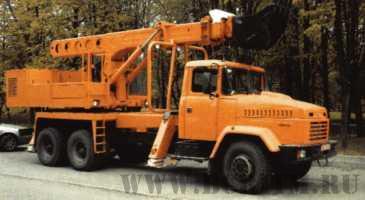 Экскаватор планировщик UDS 114/214 на шасси автомобиля КрАЗ-65103